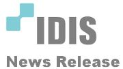 IDIS announces sponsorship of CCTV and video surveillance product area at IFSEC