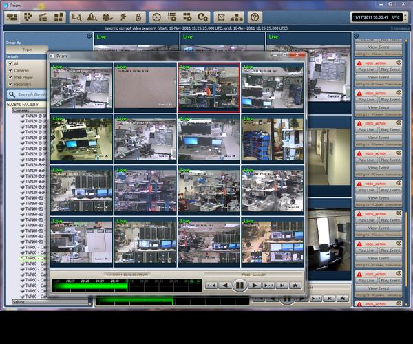 Lenel Introduces Prism Video Management System
