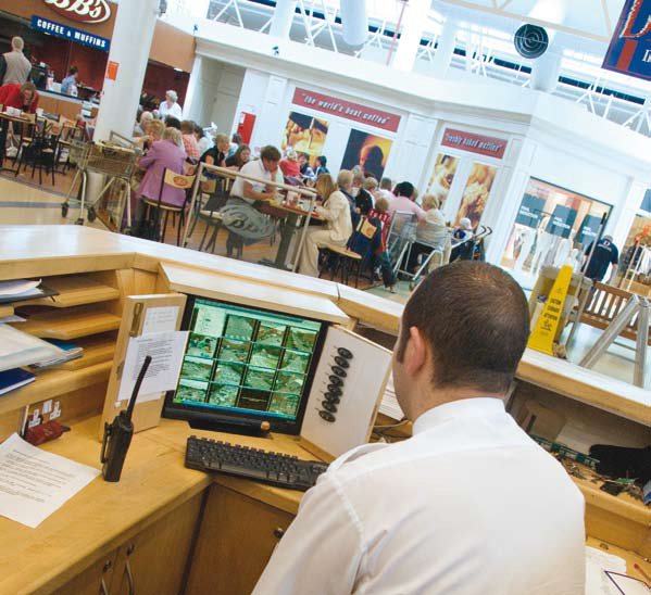 Axis network cameras enable Douglas court Shopping centre to cut slip and fall claims.