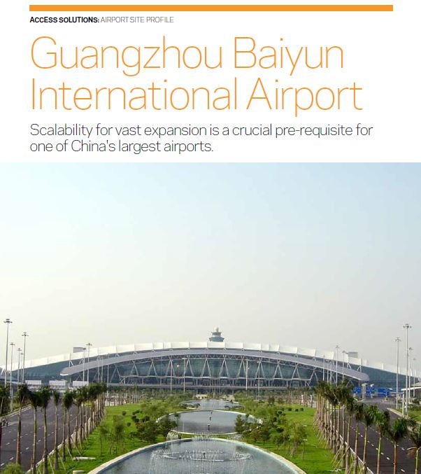 Case study: Guangzhou Baiyun International Airport