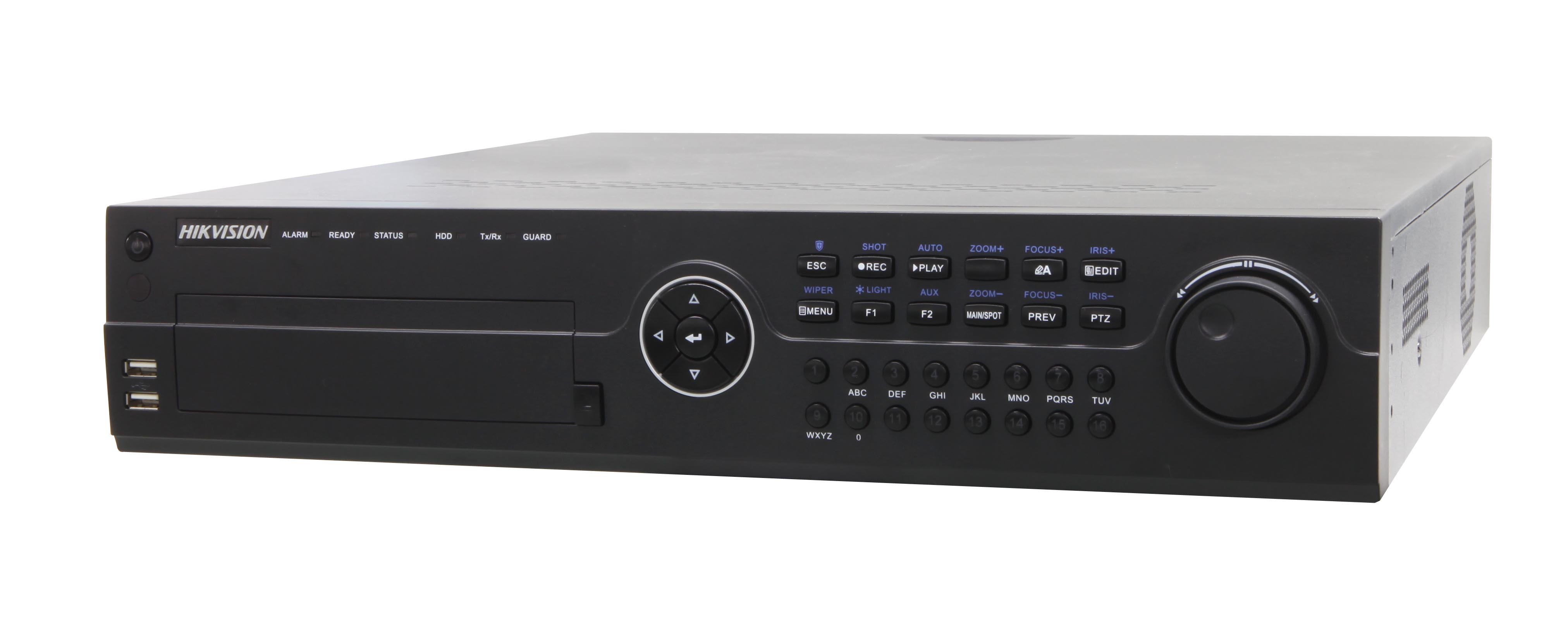 Hikvision introduce 6-ch Full HD-SDI DVR Series