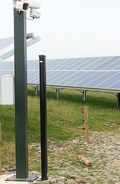 Detectors from OPTEX protect Herefordshire Solar Farm