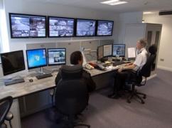 Control room furniture for Loughborough University