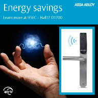 At IFSEC 2014, Aperio® innovation focuses on the benefits of energy savings for customers