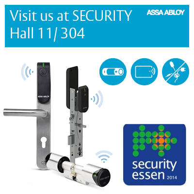 Security Essen goes wireless with cutting-edge innovations from Aperio®, SMARTair™ and eCLIQ™
