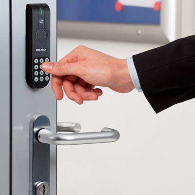 Aperio® adds multi-authentication to access controlled security doors