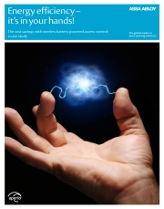 Energy efficiency – In your hands