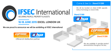 'Double take' for COP Security at IFSEC 2015