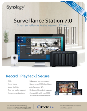 Synology release Surveillance Station 7.0
