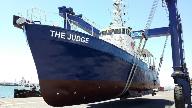 Pilgrims Vessel 'The Judge' to assist Organisations requiring Maritime Security in West Africa
