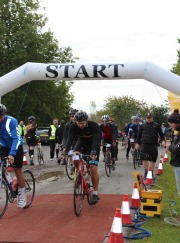 Paxton Flyers take on the Chestnut Sussex 100 Cycle Ride