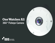 IDIS SUPER FISHEYE CAMERA SEES DUO OF INDUSTRY ACCOLADES