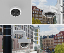 New Axis multisensor panoramic cameras provide large area overviews in great detail