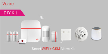 WiFi & GSM Security Smart Home Alarm System