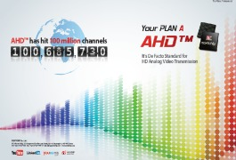 AHD hits 100 million channels.