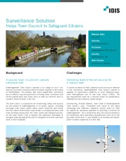 Surveillance Solution Helps Town Council to Safeguard Citizens