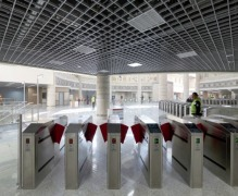 AKTUEL TURNSTILE - MARMARAY - CENTURY PROJECT- ISTANBUL-TURKEY