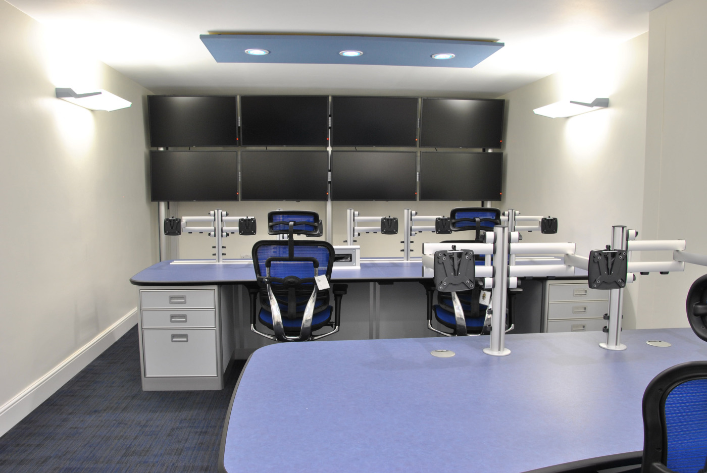 Control Room Furniture for the University of Leicester