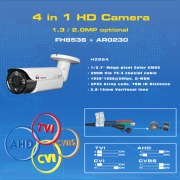4 in 1 Cameras (AHD/CVI/TVI and CVBS)