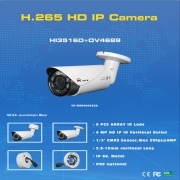 H.265 4.0MP IP varifocal bullet cameras