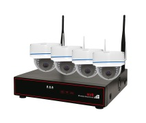 4CH 960P Wifi NVR KIT  DOME or BULLET Selectable