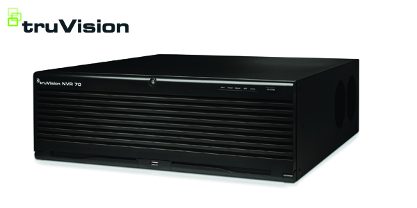 New TruVision® TVN 70 Video Recorder Delivers High-End