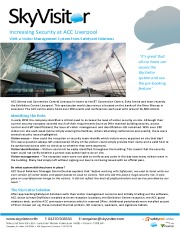 Increasing security at ACC Liverpool