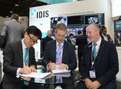 IDIS and SECOM sign strategic partnership agreement at IFSEC