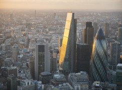 Advanced tall-building protection for 'The Cheesegrater'