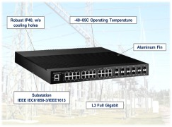 Korenix Launches JetNet 6828Gf for Substation Applications