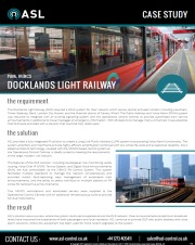 ASL Case Study - Docklands Light Railway