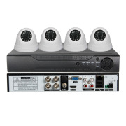 5 in 1 1080N XVR Kit CCTV DVR Kit