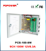 PCS-100-9M CCTV POWER SUPPLY BOX