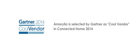 the Cool Vendor selected by  Gartner in Connected Home 2014.