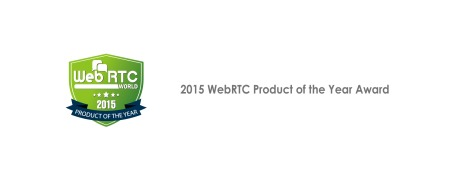 Google WebRTC World PRODUCT OF THE YEAR