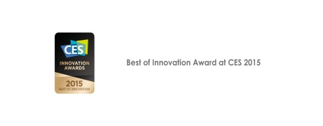 Best of Innovation Award at CES 2015