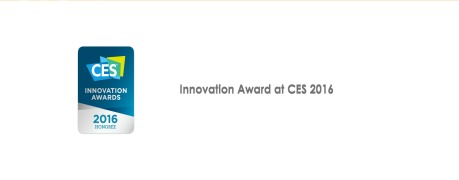 Innovation Award at CES 2016