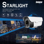Longse New H.265 Starlight Full Color HD-camera & IP Camera