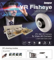 Longse 360° Full View VR Fisheye IP Camera & NVR