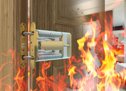 Concealment enhances fire safety