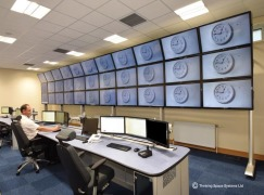 Control room furniture for brand new CCTV hub at Blackburn with Darwen Council