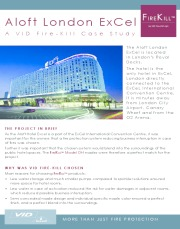 Aloft London ExCel Case Study