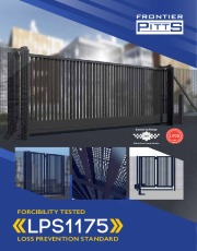 Frontier Pitts Launches Automatic Security Gates With LPS1175 Security Rating