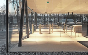 Fastlane Turnstiles secure UNESCO Headquarters