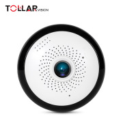 popular 360 degree VR panoramic motion detection alarm 2-ways audio TF card max.128GB mini hidden camera