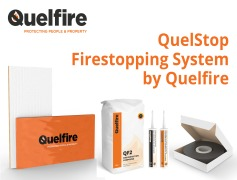 Quelfire makes firestopping easier with new system approach