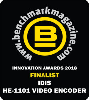 IDIS HE-1101 VIDEO ENCODER IS FINALIST IN BENCHMARK INNOVATION AWARDS
