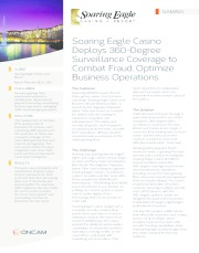 Soaring Eagle Casino Deploys 360-Degree Surveillance Coverage to Combat Fraud, Optimize Business Operations