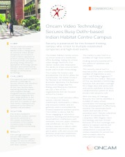 Oncam Video Technology Secures Busy Delhi-based Indian Habitat Centre Campus