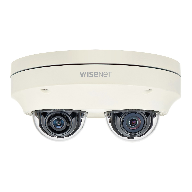 Hanwha Techwin introduce Wisenet P two channel  multi-directional camera